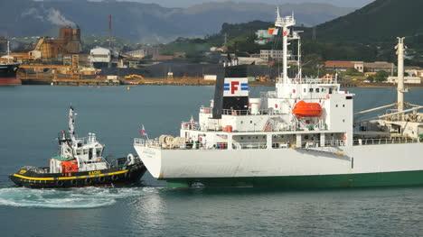New-Caledonia-Noumea-Ship-And-Tug-Boat