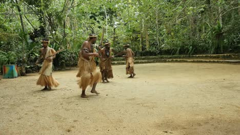 Vanuatu-Men-Performing-Traditional-Dance-With-Chants-Mov