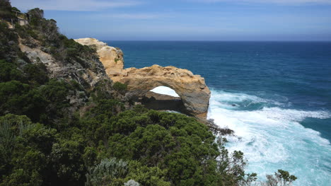 Australia-Great-Ocean-Road-The-Arch-And-Trees