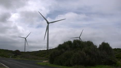 Australia-Great-Ocean-Road-Windmills-And-Clouds