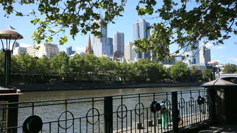Australia-Melbourne-Excursion-Boat-On-Yarra-River