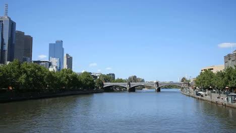 Australia-Melbourne-View-Pans-Yarra-River