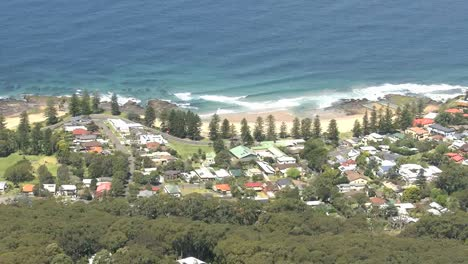 Australia-Settlement-Along-Coast-Near-Wollongong-Pan