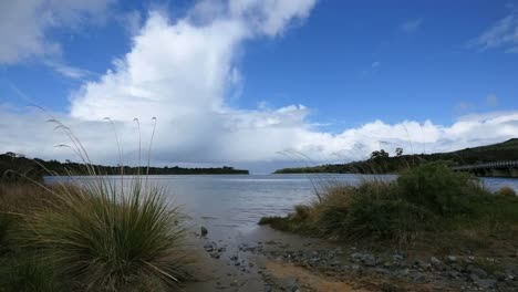 New-Zealand-Catlins-Tahakopa-Bay-With-Rising-Cloud