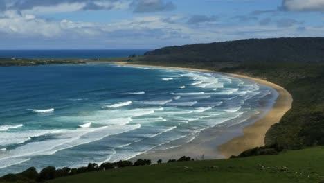 Nueva-Zelanda-Catlins-Tautuku-Bay-Olas