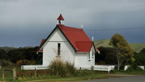 New-Zealand-Catlins-Church-At-Waikawa