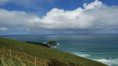 New-Zealand-Catlins-Island-With-Blowhole-View