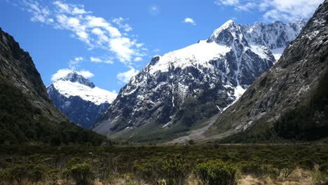 New-Zealand-Fiordland-Dramatic-Mountain