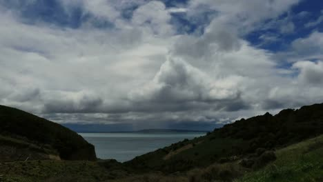 New-Zealand-Clouds-From-Nugget-Point-Road-Time-Lapse