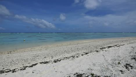 Aitutaki-White-Sand-Beach-And-Lagoon
