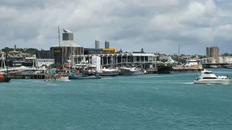 New-Zealand-Auckland-Bay-Waterfront-And-Boats