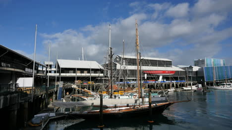 New-Zealand-Auckland-Maritime-Museum-Boats