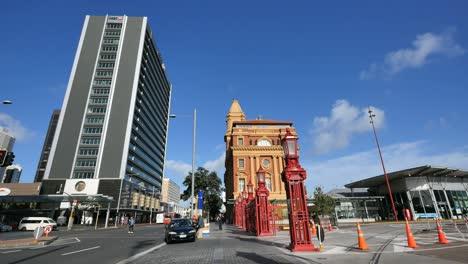 New-Zealand-Auckland-Harbor-Buildings