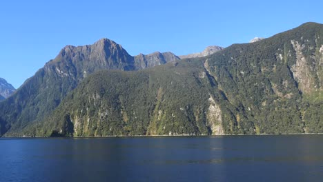 New-Zealand-Milford-Sound-View-Of-Fjord-Side-Pan