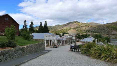 New-Zealand-Old-Cromwell-Town-Down-Path-Zoom-In