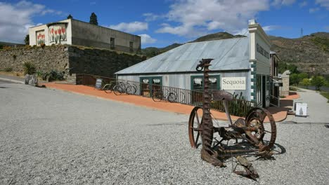 New-Zealand-Old-Cromwell-Town-Farm-Machine