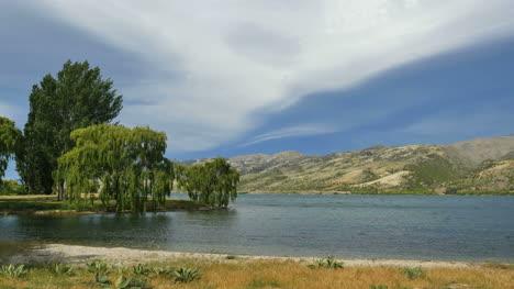New-Zealand-Dark-Cloud-Over-Lake-Dunstan