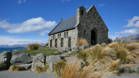 New-Zealand-Historic-Church-Standing-At-Lake-Tekapo