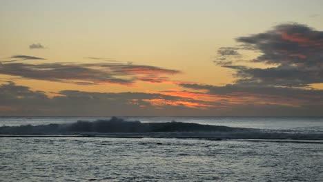Rarotonga-Waves-And-Sunset