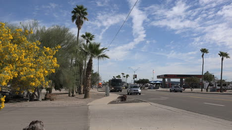 Arizona-Gila-Bend-Orange-Truck