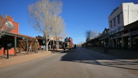 Arizona-Tombstone-Main-Street-Stage-Coach-Comes