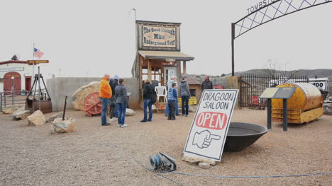 Arizona-Tombstone-Mine-Entry