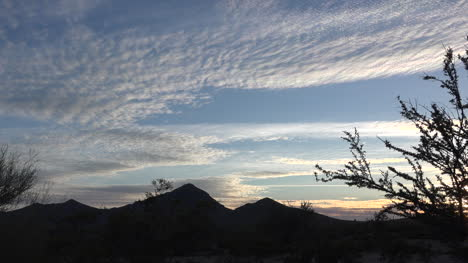 Arizona-Interesting-Clouds-In-Sky-Pan-And-Zoom