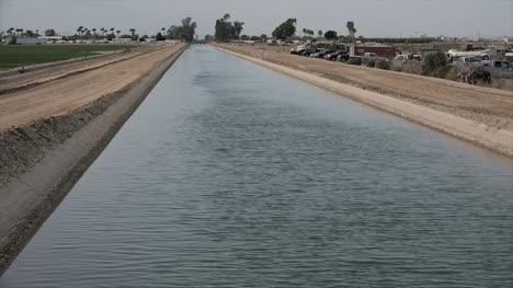 Arizona-Irrigation-Canal-View
