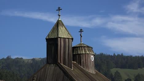 California-Fort-Ross-Kirchturm-Und-Geier