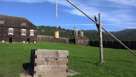 California-Fort-Ross-Well-And-Church