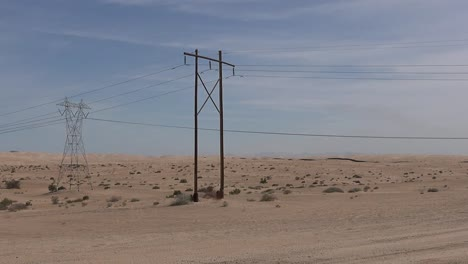 California-Imperial-Dunes-With-Power-Lines-Pan