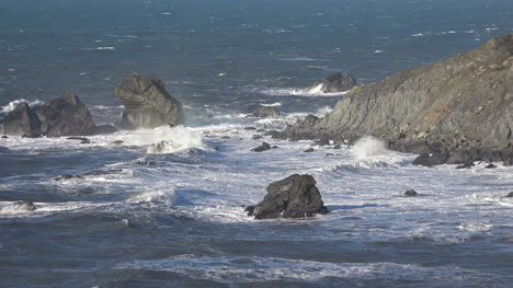 California-Patricks-Point-Rocks-With-Waves-At-Rocky-Point