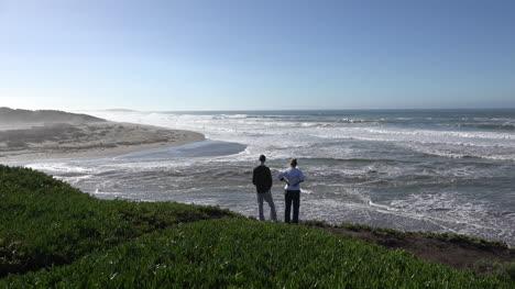 California-Coast-Near-Salmon-Creek-With-Couple-Sound