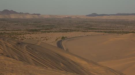 California-Road-Past-Imperial-Dunes