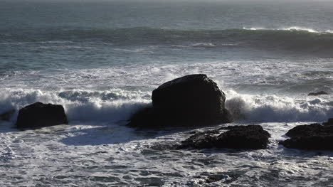 California-Starts-With-Wave-Crashing-On-Rock-At-Salt-Point-Zoom