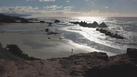Oregon-Coast-Seal-Rocks-Backlit-View-Sound