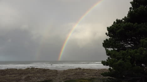 Oregon-Coast-Faint-Second-Rainbow-Sound