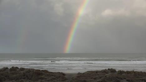 Oregon-Coast-Rainbow-Above-Sea-Sound