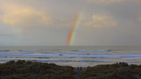 Oregon-Coast-Rainbow-And-Clouds-Zoom-In