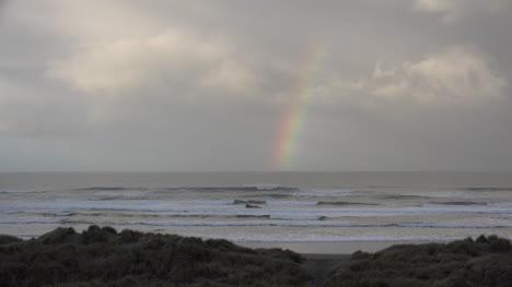 Oregon-Coastal-Rainbow-With-Surf