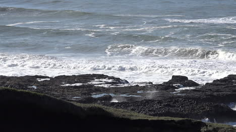 Oregon-View-Of-Thors-Well-Sprouting-At-Cape-Perpetua-Sound-Zoom-In