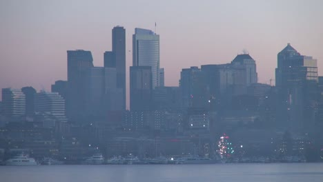 Washington-Seattle-With-Christmas-Tree-Lights
