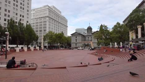 Oregon-Portland-Pioneer-Courthouse-Square