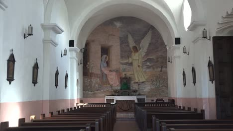 Texas-Goliad-Presidio-La-Bahia-Church-Interior-Zoom-To-Angel