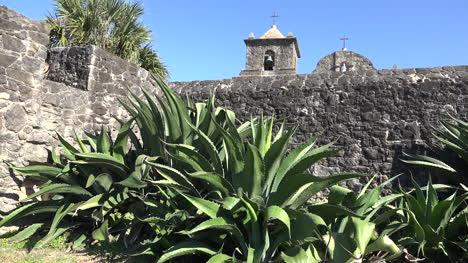 Texas-Goliad-Presidio-La-Bahia-Maguey-By-Wall