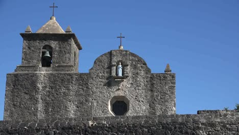 Texas-Goliad-Presidio-La-Bahia-Wall-And-Church-Zoom-In