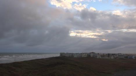 Texas-Gulf-Coast-Clouds-Over-Sea-And-Condos
