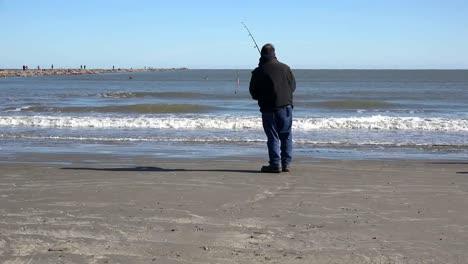 Texas-Port-Aransas-Fisherman
