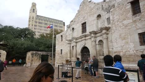 Texas-San-Antonio-Alamo-Side-View
