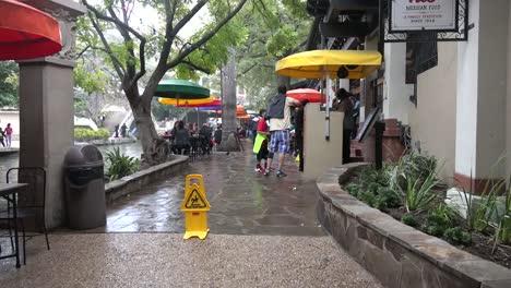 Texas-San-Antonio-River-Walk-Pedestrians-On-Sidewalk